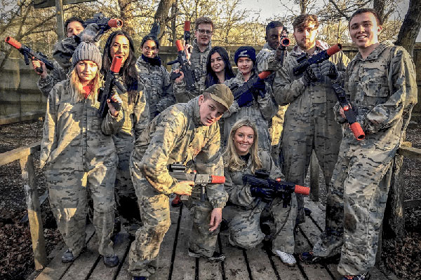 Bedlam Lasertag days out slideshow