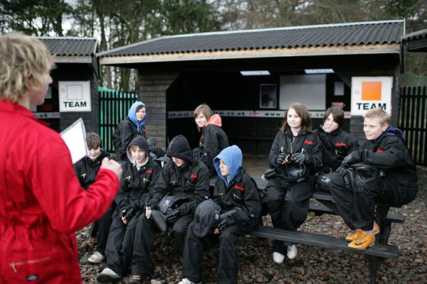 Bedlam paintball school activity days slideshow