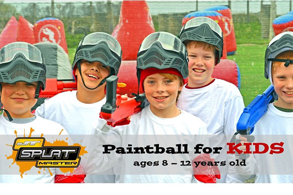 Bedlam splatmaster kids paintball slideshow